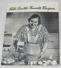 1939 Kate Smith's Favorite Recipes Swans Down Bakers Coconut Cook Book Booklet