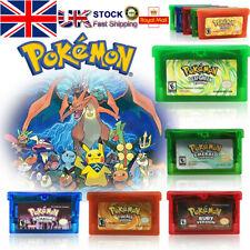5-Style Gameboy Cartridge Card Fan Advance For Pokemon NDSL/GBC/GBM/GBA/SP Gift