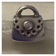 PANDORA Round Stone Shape Fine Charms and Charm Bracelets