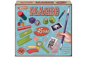 45 TRICKS MAGIC SET - TY6651 MAGICIANS GAME ILLUSIONS CRAFT PLAY FUN SHOW CREATE