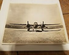 Vintage WW2 Aviation Photo Bomber Plane PILOTS WITH PROPELLERS Airplane EUROPE