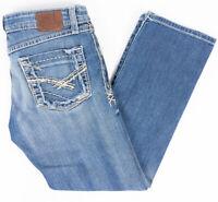 BKE Buckle Sabrina Capri Womens Jeans Medium Wash Size 27/26