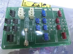 Mimaki heater Board E400529 pb/F,E104043-C,Used,Jap$6898
