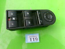 Vauxhall astra zafira window switch 13228877