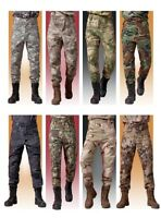 Mens Outdoor Military Tactical Pants Ripstop Combat Cargo Hunting Casual Hunting
