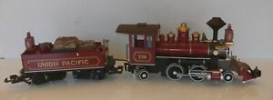UNION PACIFIC 2-4-2 Steam Locomotive & Tender G Scale # 19 Bachmann Big Haulers