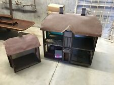 Antique Doll House Hand Made Late 19th Century & Servants House