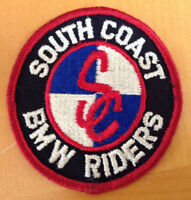 BMW Motorcycle Embroidered Patch - South Coast BMW Riders