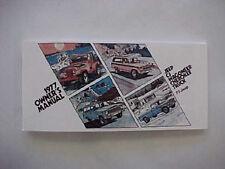 Jeep Owners Manual - 1977 Cj5 / Cj7 / Wagoneer / Truck