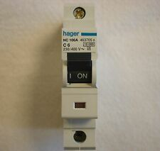 HAGER C 6A 10KA MCB - Miniature Circuit Breaker  C CURVE SO LESS NUISANCE TRIPS