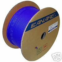 CANARE L-4E6S STAR QUAD BALANCED MICROPHONE CABLE BULK UNTERMINATED BLUE, 10 Ft