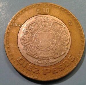 Mexico 10 Pesos coin 2012