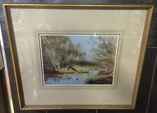 "David Taylor (Australian 1941- ) ""Air of Spring"" Original Watercolour Painting"