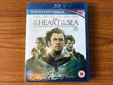 In The Heart Of The Sea (3D Blu-ray) New & Sealed