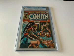 CONAN THE BARBARIAN 23 CGC 8.5 1ST APPEARANCE RED SONJA MARVEL COMICS 1973