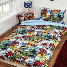 COMIC STRIP SINGLE DUVET COVER SET NEW BEDDING QUILT