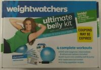 Weight Watchers Weight Loss Kit Ultimate Belly DVD w/ Mini Stability Ball