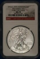 2011 American Silver Eagle. NGC MS70.  ET1631A/RH