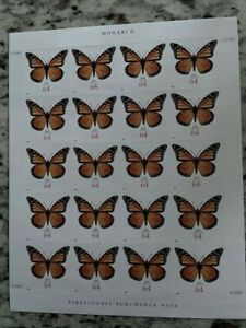 2010 #4462 Monarch Butterfly 64-cent Full Pane