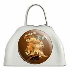 Dinosaur Train Nature Trackers White Metal Cowbell Cow Bell Instrument