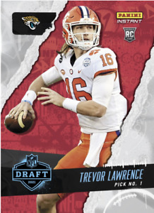 PRESALE 2021 Panini Instant Draft Night Trevor Lawrence Rookie RC #1 Clemson SP
