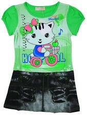 Vêtements verts pour fille de 7 à 8 ans