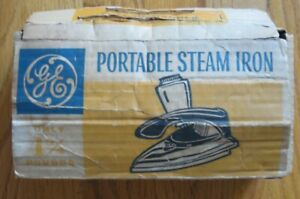 General Electric Portable Steam Iron Catalog No F29 vintage GE travel