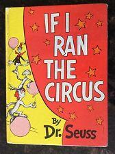 Rare.  If I Ran The Circus by Dr. Seuss 1st. Edition 1956. Random House