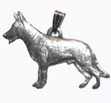 German Shepherd Pendant Dog Harris Fine Pewter Made in USA jewelry