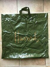 Large Harrods Plastic Shopping Bag