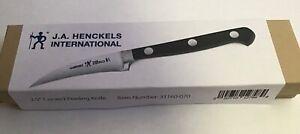 "New in Box J.A. Henckels 2 1/2"" Curved Birds Beak Paring Peeling Knife"