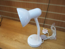 Retro Desk Lamp White Reading Study Lamp 40 Watt E27 Screw Bulb