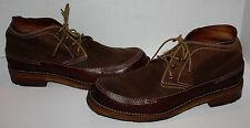 Mens FRYE Brown Leather Boots Shoes Size 11.5 D