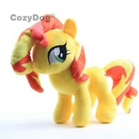Sunset Shimmer Plush Horse Cartoon Figure Soft Plushie Toy Doll 12'' Collectible