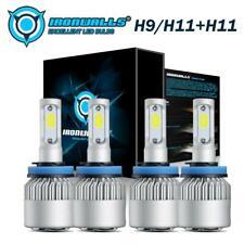 H9/H11 + H11 LED Headlights Bulbs Kit for Toyota Tacoma 2016-2019 High Low Beam