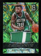 2016-17 Panini Spectra Catalysts Neon Green Prizm 7/25 Marcus Smart #2 Patch