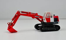Poclain TC45 Excavadora sobre orugas Rojo Blanco Escala 1:87 H0