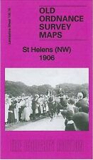MAP OF ST HELENS (NORTH WEST) 1906