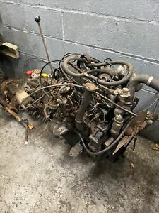Land Rover series 3 2.25 Diesel Engine & 4 Speed Gearbox / Transfer Box