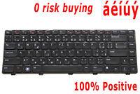 For Dell Inspiron M5040 N5040 N5050 N411z 3520 5520 7520 Keyboard Czech US CZ