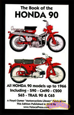 HONDA 90 SPORT BOOK SHOP MANUAL SERVICE REPAIR S90 CT90 CM90 C200 S65 TRAIL C65