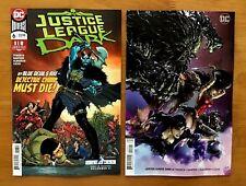 Justice League Dark 6 2018 Scott Main A + Clayton Crain Variant Set DC NM+ 12/12