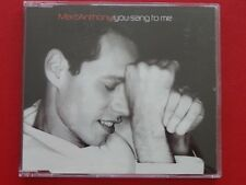MARC ANTHONY - YOU SANG TO ME, Maxi EP Musik CD Rock Pop ~006