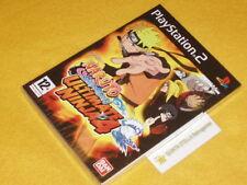 NARUTO SHIPPUDEN ULTIMATE NINJA 4 x PLAYSTATION 2 PS2