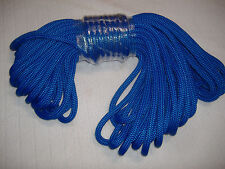 1/2 x 100 Double Braid blue nylon Anchor Dock Hoist Winch Tower Lift