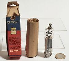 Ancienne Lampe Radio MINIWATT DARIO série Rimlock PY81 10.7 + boite d'origine