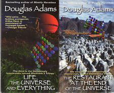 Complete Set Series - Lot of 7 Hitchhiker's Guide to the Galaxy by Douglas Adams
