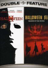 Halloween 2/Halloween 3: Season of the Witch [2 Discs] (2007, REGION 1 DVD New)