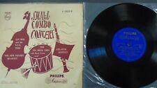 "Small Combo Concert Pia Beck Jan Mol Sem Nijveen Philips P10009R LP Vinyl 10"""