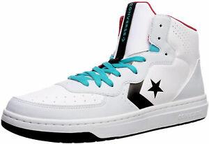 Converse Rival Mid White, Black, Platinum Mens Sneakers Shoes 164892C